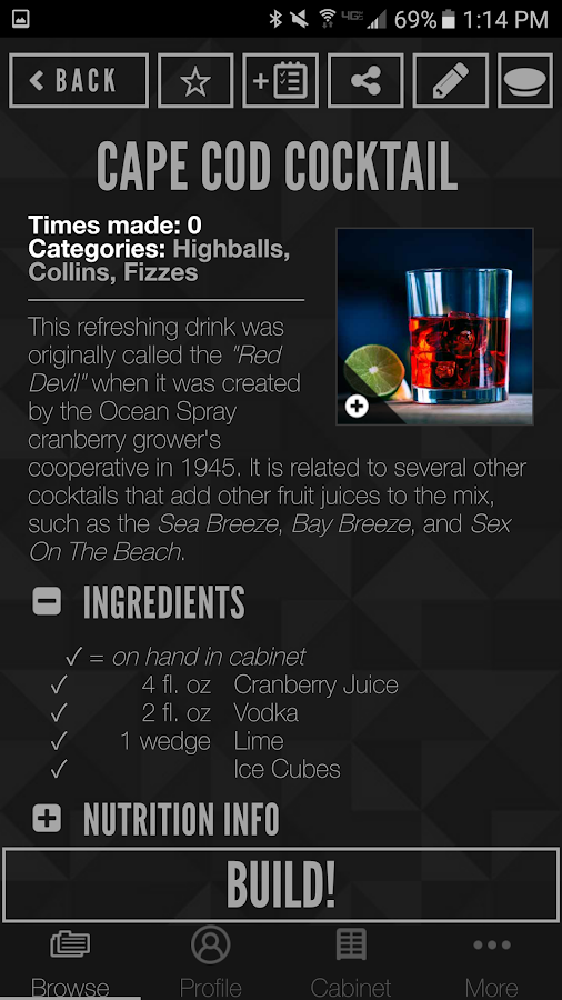 Perfect Drink- screenshot
