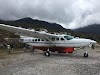 Indonesia. Papua Baliem Valley Trekking. Our plane ride back from Sobaham to Wamena