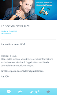 Journal du Community Manager- screenshot thumbnail