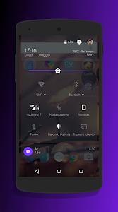 Transparent Purple -CM12 Theme v3.1