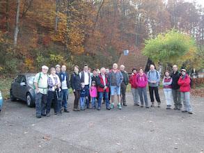 Photo: le départ parking du musée du sabotier à Soucht
