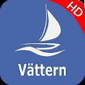 Vättern sjö - Sverige Offline GPS Nautisk Karta icon