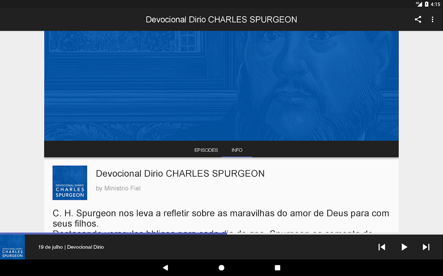 Devocional SPURGEON- screenshot