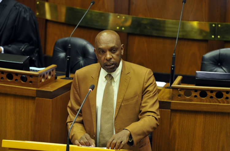Vincent Smith addresses the National Assembly. (File photo)
