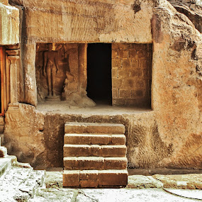 Another Civilization by Anoop Namboothiri - Buildings & Architecture Public & Historical ( ancient, cave temple, mason, caves, ellora, anoop namboothiri, stone,  )