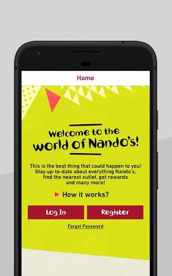 Nando's Singapore - screenshot