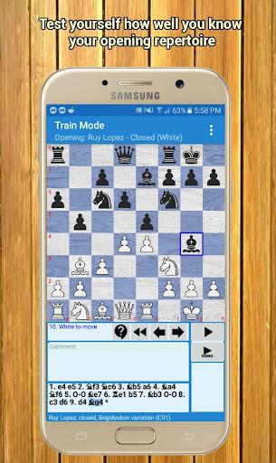 Chess Trainer Free - Repertoire Builder moddedcrack screenshots 3