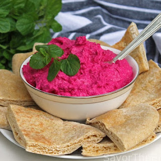 Red Beet Labneh