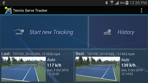 Tennis Serve Tracker