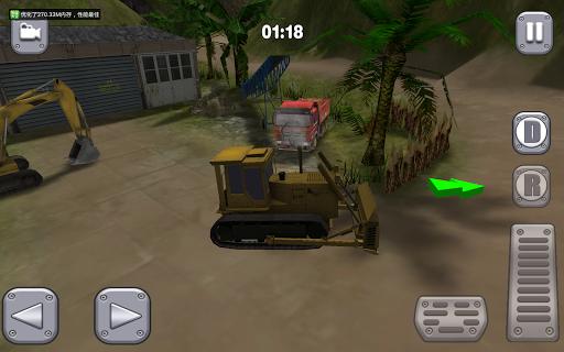 公牛推土機司機3D:越野
