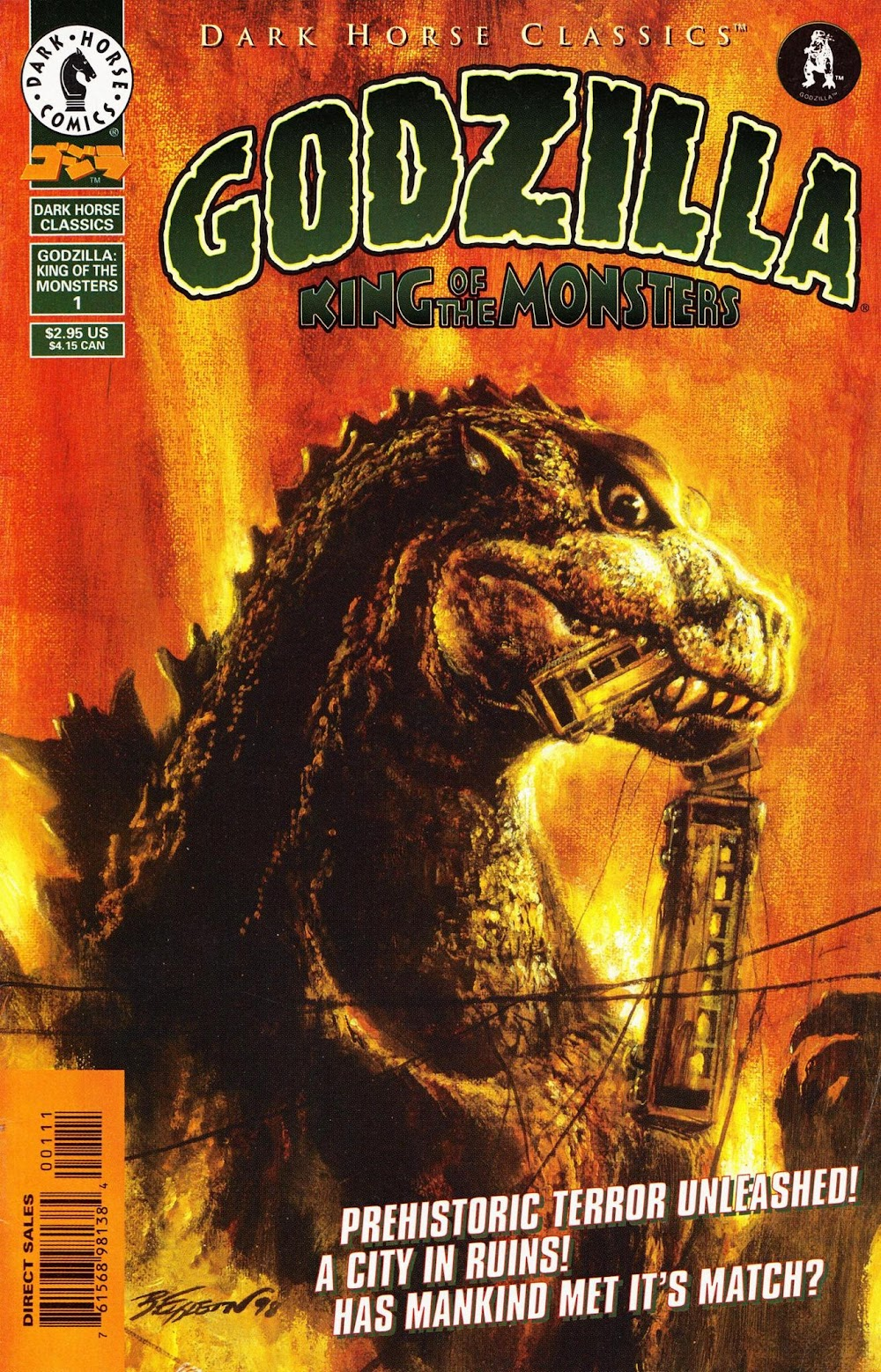 Godzilla - King of the Monsters (1998) - complete
