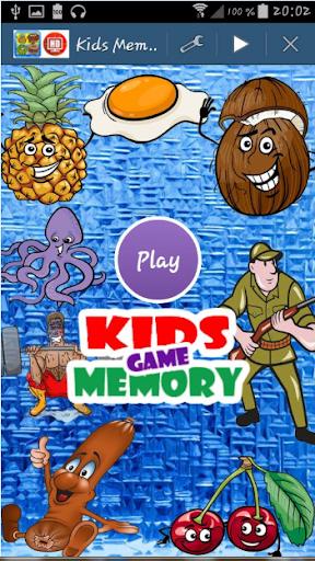 Kids Memory -Jeu de mémoire HD