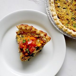 Vegan Herbed Tofu Quiche Recipe