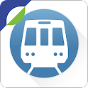Washington DC Metro Route Map icon