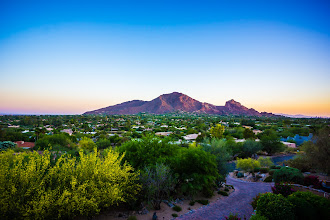 Photo: Camelback Mountain in the Morning -- Arizona, USA  I'm missing home! We are going to bring the baby to visit the family not too long from now, and I just can't wait to see their happy faces and to have the baby experience the beauty of my home town soon!