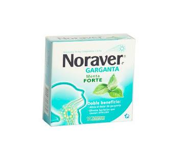 Noraver Menta 10/1.4mg Tab.