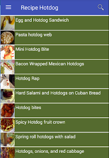 Recipe Hotdog American New - náhled