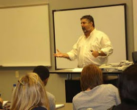 Photo: Dr. Pellegrino in class