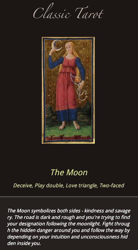 Classical Tarot-Fortune teller- screenshot