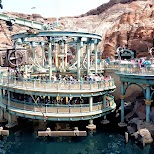 the waiting line for Journey to the Center of the Earth at Tokyo DisneySea in Urayasu, Tiba (Chiba) , Japan