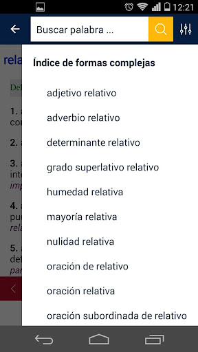 Diccionario RAE y ASALE (DLE)  screenshots 2
