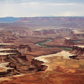 Canyonlands National Park by Mary Dayton - Landscapes Caves & Formations ( green river,  )