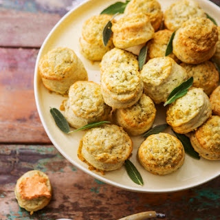 Cheesey Scones.