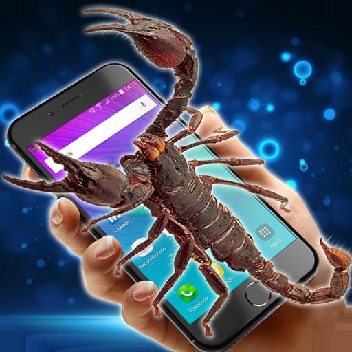 Scorpion in phone