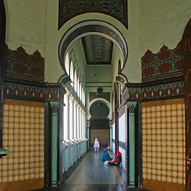 As Mashun Mosque by Mulawardi Sutanto - Buildings & Architecture Places of Worship ( mosque, mantap, al mashun, medan, masjid, travel )