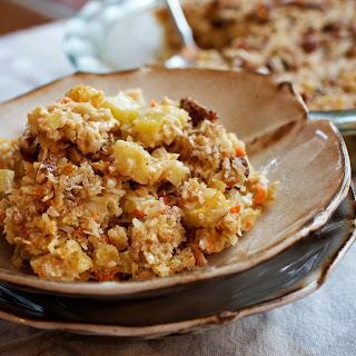 Morning Glory Baked Oatmeal. (Deb Lindsey /For The Washington Post)
