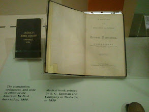 Photo: Medical book printed by E.G. Eastman and Company in Nashville in 1859