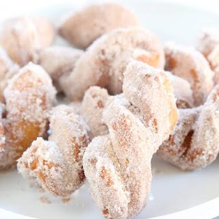 Cinnamon Sugar Gluten Free Biscuit Donut Twists