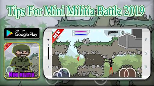 Guide For Mini Militia Battle 2020 Amzing-Tips Screenshots 1