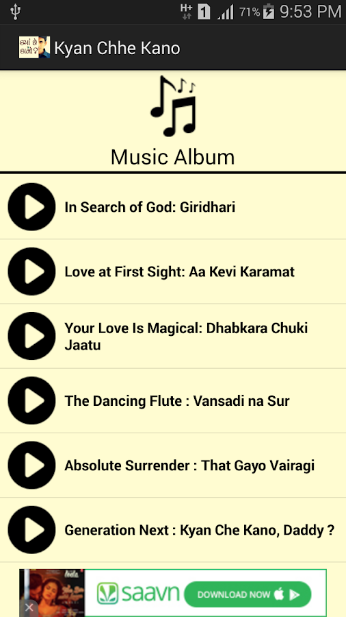Devotional Album:Kya Che Kano?- screenshot