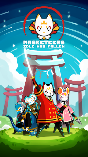Masketeers : Idle Has Fallen 0.7.5 screenshots 1