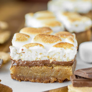 Toasted Smore's Blondies.