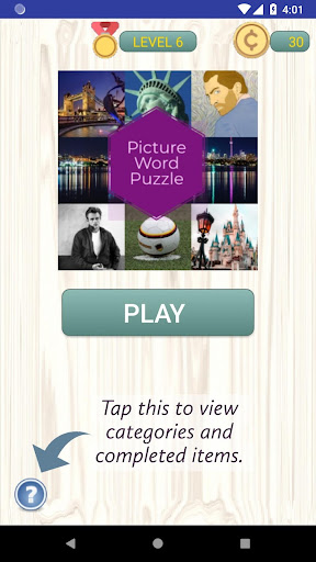 Picture Word Puzzle  captures d'écran 1