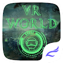 VR Virtual Reality World Theme icon