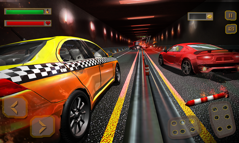 Pro TAXI Driver Crazy Car Rush- screenshot