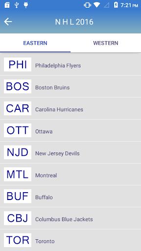玩免費運動APP|下載Schedule for NHL 2016 app不用錢|硬是要APP
