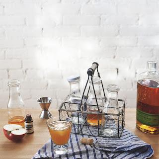 Basque Cider + Rye Cocktail.