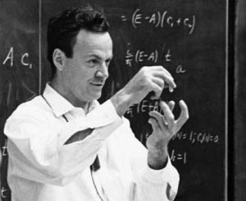 Photo of Richard Feynman