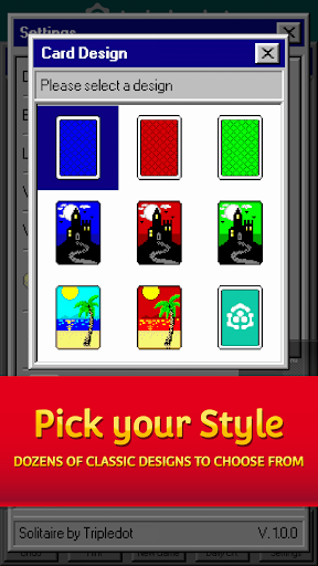 Solitaire 95 - The classic Solitaire card game filehippodl screenshot 5