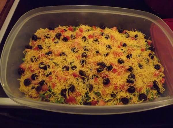 Taco Dip/salad Recipe