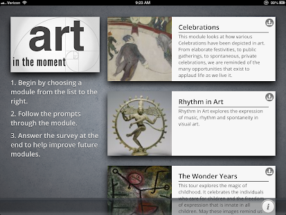 Art in the Moment- screenshot thumbnail