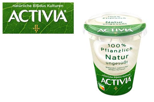 Bild für Cashback-Angebot: ACTIVIA 100% Pflanzlich                                                    NATUR ungesüßt - Activia