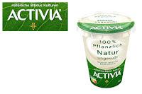 Angebot für ACTIVIA 100% Pflanzlich                                                    NATUR ungesüßt im Supermarkt - Activia