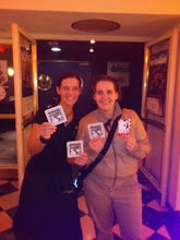 Photo: ProChange in Germany distributing anti-street harassment coasters and cards.