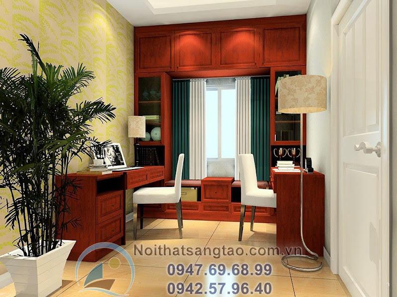 thiết kế phòng khách kiểu Trung Quốc