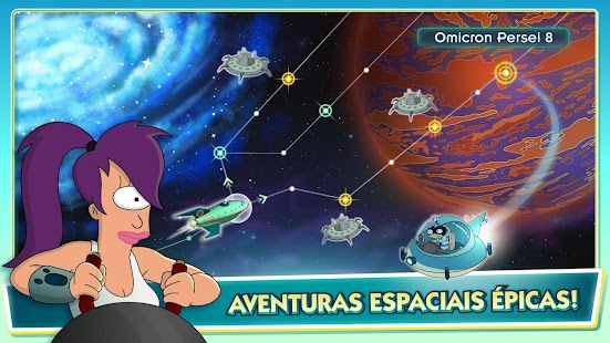 Futurama: Worlds of Tomorrow Screenshot